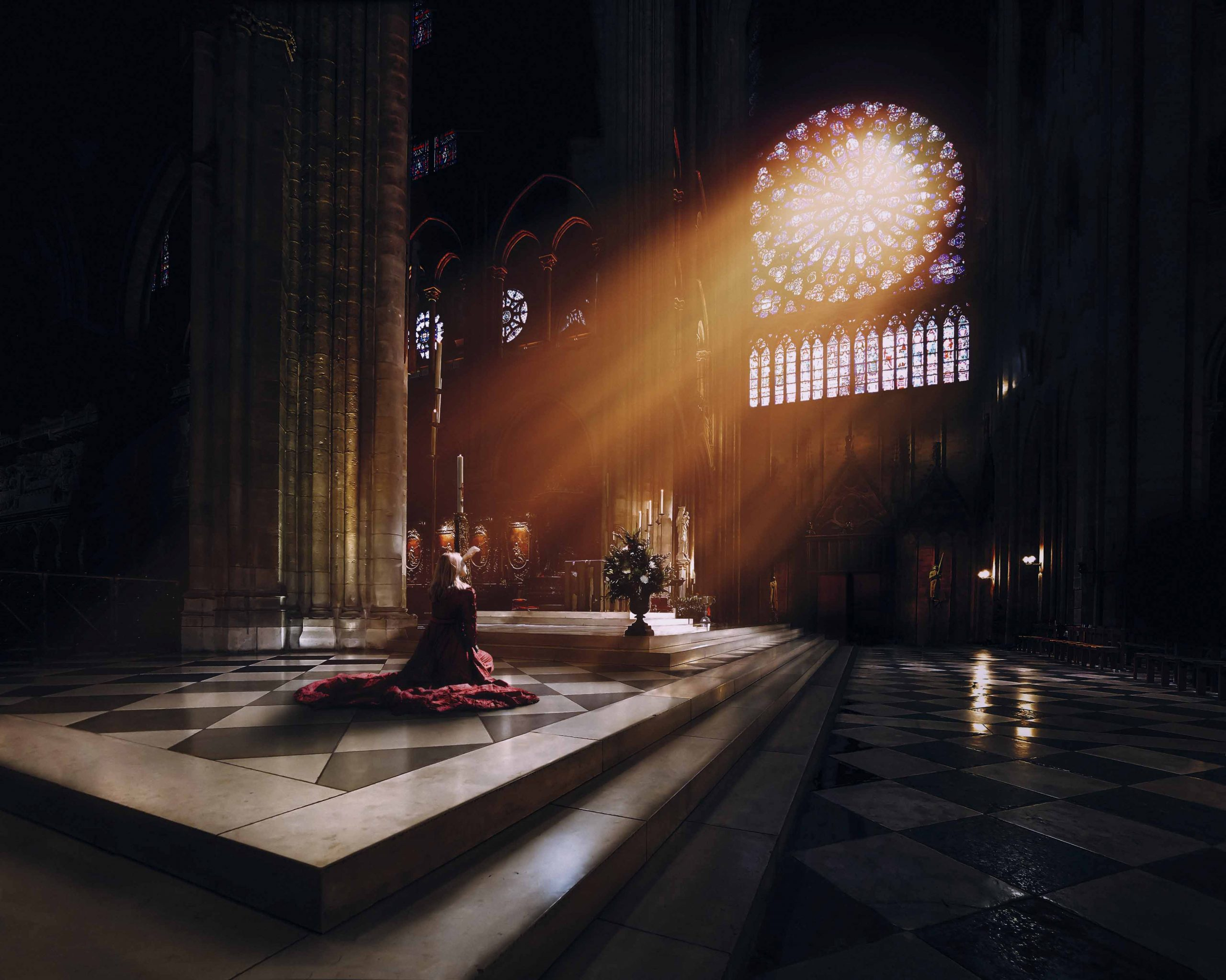 The light of Notre Dame